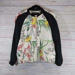 Zara Basic zip track jacket